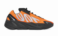 2020 Kanye West 700 MNVN Orange Running Shoes 700 MNVN Bone ...
