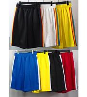 2021 Mens Designer Shorts High Street Pantaloni da uomo Donne Estate Sport Sport Sweatpants Mens Hip Hop Streetwear Abbigliamento uomo Dimensioni: S-XL