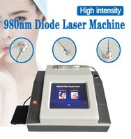 30W 980nm лазерный диод Сосудистые сеточки машина удаления ногтей Грибок Снятие с Ice Сжать Хаммера Уменьшить боль тела