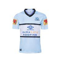 Top qualidade Cronulla Sutherland Sharks 2020 Adultos Super Rugby Jerseys shirt Maillot Camiseta Maglia sizs: S-5XL