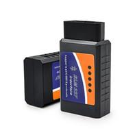 새로운 미니 ELM327 느릅 나무-327 블루투스 OBD2 V2.1 코드 리더 자동 스캐너 느릅 나무 안드로이드에 대한 327 테스터 어댑터 진단 도구