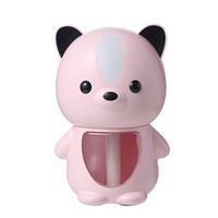 USB-увлажнитель 200 мл PET Ультразвуковой прохладный туман производитель аромат нефтяной диффузор светодиодной лампы увлажнения розовый