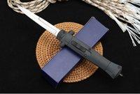 2020 neue italienische Mafia FRN verstärkte ABS Außen Seitensprung einzigen automatischen Messer Campingmesser Geschenkmesser Männer 1 Stück Freeshipping