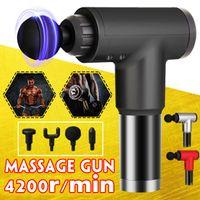 4200R / Min Mini Body Muscle Therapy Sport Massage Guns Electric Booster Vibration Pibration Massager Главная Глубокая Ткань Боли