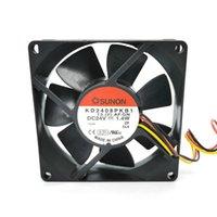KD2408PKB1 8020 24V 1.4W Cooling fan 80*80*20mm