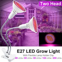 غودلاند فيتو مصباح كامل الطيف LED نمو الخفيفة E27 مصنع مصباح Fitolamp للداخلية شتلات الزهور Fitolampy تنمو خيمة صندوق