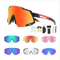 Nouveau style extérieur Cyclisme Lunettes interchangeables Objectifs soleil femmes lunettes de sport polarisants courte vue-vente Lunettes de soleil chaud de vélos