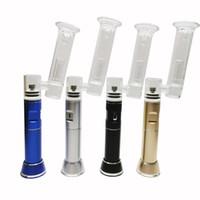 Etails Portable Wax Pen Henail Plus Dab Rig com Quartz Titanium Nail Bubble Bubble Water Bong Kits Fast Shipping