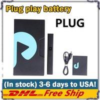 Экзотика ДНК Plug & Play Pod Box Mod 500mAh батареи Ecig Модификации с 1,0 мл Пустой Vape Pod экзотов Для 510 густого масла Картридж E CIG Vapor Kit