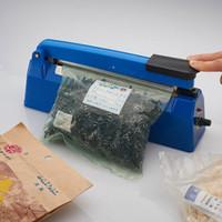 200 mm Sellador del impulso de sellado térmico de la cocina los alimentos sellador al vacío bolsa de embalaje de bolsa sellador plástico Herramientas 220V 50Hz
