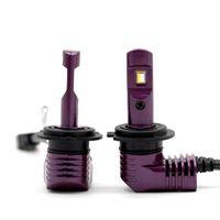2PCS H7 Mini BOYUT P10 LED Far H4 H8 H9 H11 9005 9006 9012 3/4 HIR2 D1S / D2S / D3S / D4S PSX24 5202 Ampul 35W 5200lm 6000K