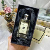 Jo Malone Parfum Parfüm Lime Basil Mandarin İngilizce Armut 3.4oz 100ml Eau de Köln Kadınlar Koku Londra Kalıcı Yoğun Hızlı Gönder