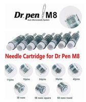 Substituição Micro Agulha Cartucho 11/16/24/36 / 42 / Nano PIN para Dermapen Dr. Pen M8 Mts Rejuvenescimento