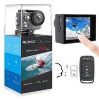 AKASO V50 ELITE 4K / 60FPS Действие камеры WiFi сенсорный экран EIS водонепроницаемый спортивный камерой голосовой контроль под водой шлем спортивный камень