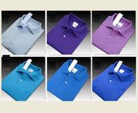 Camisetas de diseño Polos Calle bordado cocodrilo impresión Ropa para hombre de la marca Polo Italia lujo de alta calidad camiseta de los hombres de