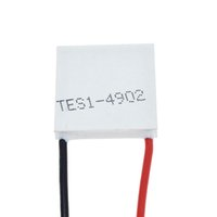 Semiconductor refrigeration sheet TES1-4902 20*20MM 5V 2A temperature difference 65 ° C or more, mobile phone cooling