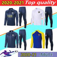20 21 Juniors Boca Juniors Veste de footbacksuit Suite 20 21 de Rossi Gago Boca Junior Football Jacket Ensuite Ensemble JoGging Ensemble Chandal