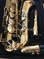 JUPITER JAS-769-II Eb Tune Саксофон альт Новый бренд E Flat Музыкальный инструмент Духовой Золотой лак Sax с футляром и аксессуары