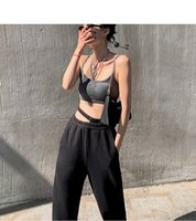 Women Pants Jazz Hip- hop Casual Beam Feet Fashion 2 Color Sp...