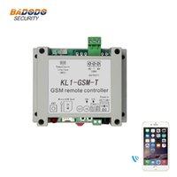 controllore relè di accesso di GSM wireless remoto controllore KL1-GSM-T con uscita a relè 10A sensore di temperatura NTC