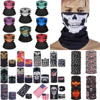 Halloween Party Halloween masques Visière Crâne multi-fonction Magic Mask Turban Riding chaud et changeable Masque Visage XD23840