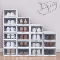 الملابس خزانة تخزين بحيرة 3 قطع الأحذية رف مجموعة صناديق بلاستيكية كومة الأدراج الأحذية الأحذية منظم الأحذية عالية الكعب أحذية