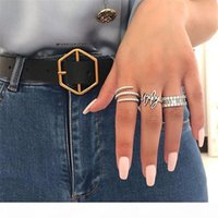 A Simple Cute Female Full Cz Diamond Finger Ring Luxury Jewelry 925 Sterling Silver Engagement Ring Colorful Zircon Rings For Woman Gif