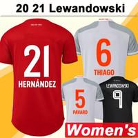 20 21 Lewandowski النساء لكرة القدم الفانيلة مولر روبن قمصان المنزل لكرة القدم سيدة جديدة قصيرة الأكمام الفكرة trikots الزي الرسمي
