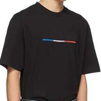 20ss Flagge Muster gedruckt Herren T-Shirt Männer Frauen Paar Sommer Art und Weise beiläufige Straße T-Shirt loser Sport Paare Vintage T Shirts