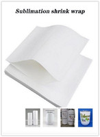 Sublimation shrink wrap film bag for Skinny Tumbler Regular ...