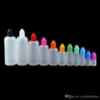 E Cig E-Saft E-Flüssigkeit Leere Ölflasche aus Kunststoff Tropfflaschen 3 ml 5 ml 10 ml 15 ml 20 ml 30 ml 50 ml 100 ml 120 ml mit Kindergesicherte Cap Großhandel