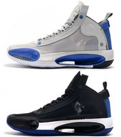 New Arrival basketball shoes for men jumpman 34 34s Blue Voi...