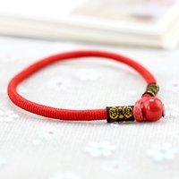 Originale tessuti a mano in ceramica gioielli tibetano braccialetto piccola stile nazionale paio braccialetto Good Friend coppia piccolo regalo femminile