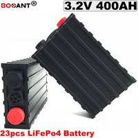 23 Stück 60V 400Ah LiFePO4 Batterie für elektrisches Fahrrad, Solarenergiespeicher DIY Lithium 3.2V 12V 24V 36V 48V 72V Batterie