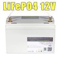 12V 100AH LiFePO4 200AH IP68 wasserdichter Akku 12,8V Speicher Solar-LED-Lampe 12v lifepo4