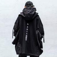 11 BYBB'S DARK японского Streetwear Man Толстовка Hip Hop Embroideried пуловер пэчворк Поддельный Два Darkwear Tops Techwear Толстовки 200923