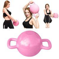 Accueil rempli d'eau Kettlebell 4-12LB réglable haltère Yoga Pilates Massage Injection d'eau bouilloire Équipement de Bell boule de remise en forme