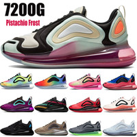 kadınlar Batik patlama atom yeşil mor Aurora üçlü siyah beyaz ayakkabılar erkekler çalışan 2020 yeni 720S Fıstık Frost gerçek spor Sneakers olmak