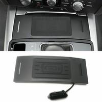 아우디 A6 C7 RS6 A7 2,012에서 2,018 사이를 들어 QI 자동차 무선 충전기 무선 전화 충전