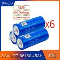 18pcs 2.3V 66160 Аккумулятор 30Ah 35AH 40Ah 45Ah литий титанат Cell LTO для 1 2 3 4 6 DIY обновления