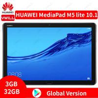 الكمبيوتر اللوحي النسخة العالمية هواوي ميدياكباد M5 لايت 10.1 بوصة 4G LTE Phonecall 3GB 32GB Kirin 659 Octa Core بصمات الأصابع فتح