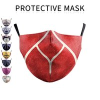 face masks 3D Ice silk printing sports outdoor riding mask W...