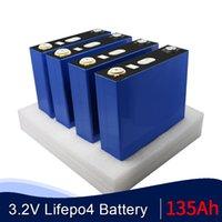 32pcs GRADE A 3,2V 135AH lifepo4 Pil Lityum Demir Fosfat Hücre solar12V 24V 48V hücreleri değil 120AH 150Ah 200AH AB ABD TAX FREE