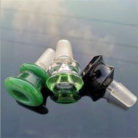 Colorful Dabber Glass Oil Burner Glass Adapter Male Adaptor Smoking Accessories Glass Pipe Water Bong Bowl DHL Free