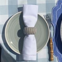 Салфетки льняных белого ажурной Таблица Салфетка Урожай чай Салфетка для званого обеда 20x20 дюйма