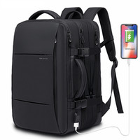 45L Expandable Large Capacity Travel Backpack Men 15. 6 inch ...