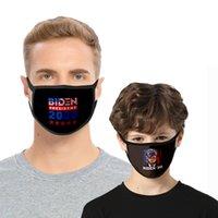 Biden Masque adulte Masque de poussière Enfants Polyester Soie Ice Double Masque Lavable Biden de soutien électoral Fournitures Bouche couverture