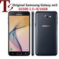 "Refurbished Original Samsung Galaxy On5 G5500 Dual SIM 5.0"" Quad Core 1.5GB RAM 8GB ROM 8MP 4G LTE Android Cell Phone"