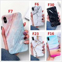 2.020 suave de lujo TPU gruesa cubierta de mármol de teléfono para el iPhone 12 11 XS Pro Max XR X 6 7 8 6S Plus