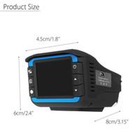Kamera Video 2in1 HD 720 P Auto DVR Detektor Kamera Video Recorder Dash Cam Radar Laser Speed Detector Gute Qualität Auto DVR